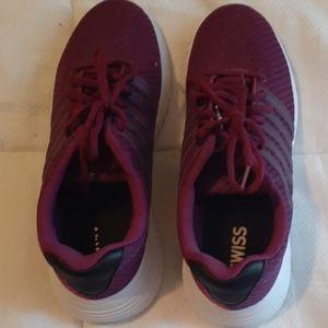Women size 9.5 K-Swiss athletic shoes